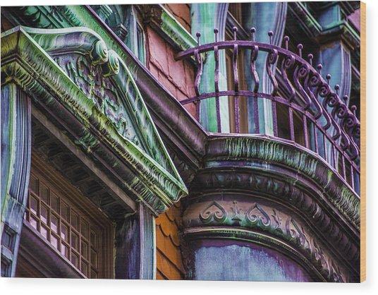 Victorian Color Wood Print