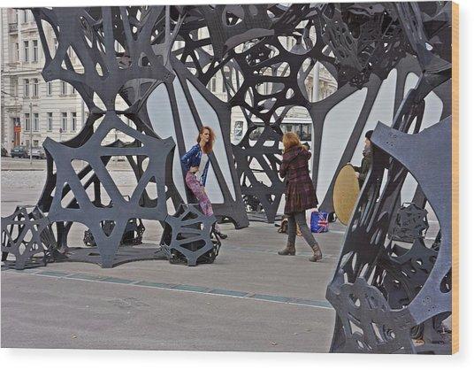 Vienna-138 Wood Print