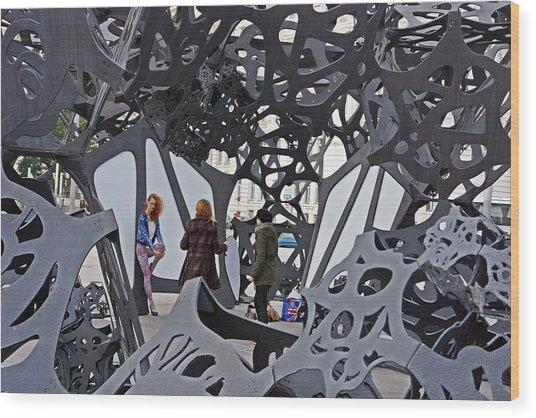 Vienna-139 Wood Print