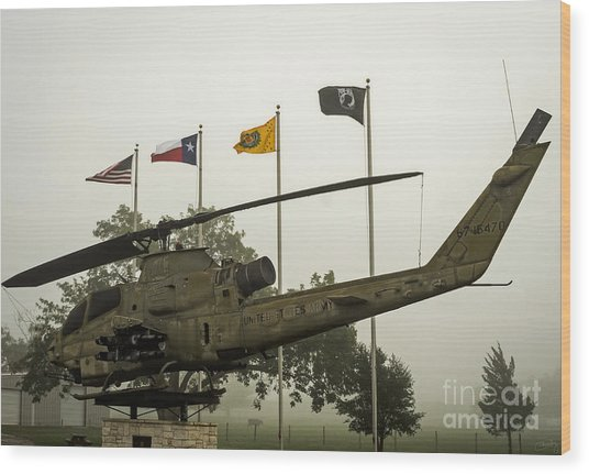 Vietnam War Memorial Wood Print