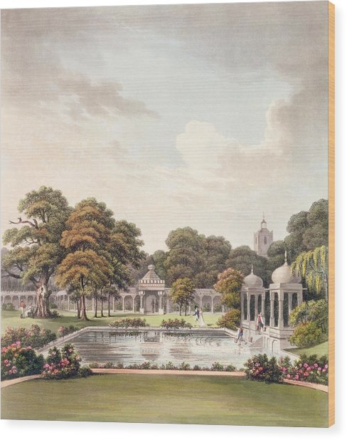 View From The Dome, Brighton Pavilion Wood Print
