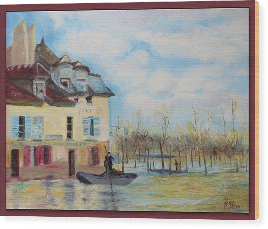 Villa Artisian Wood Print