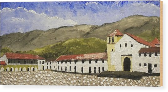 Villa De Leyva Colombia Wood Print