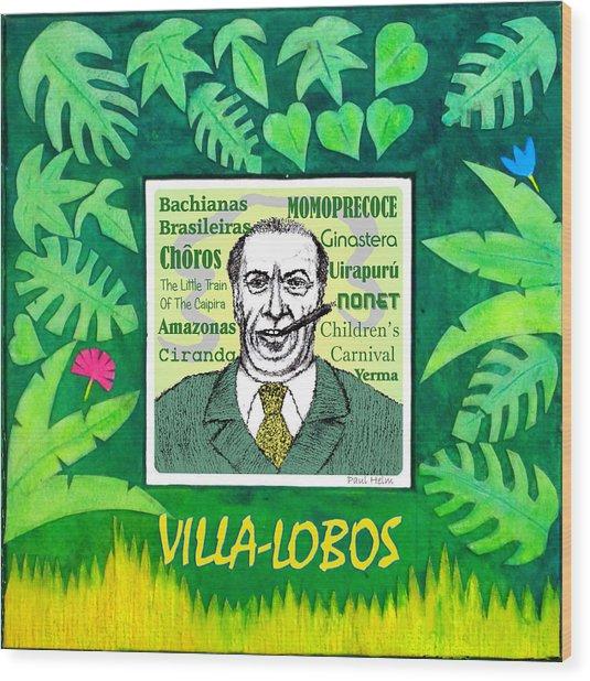 Villa-lobos Wood Print by Paul Helm