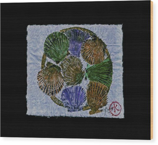 Vineyard Bay Scallops  Wood Print