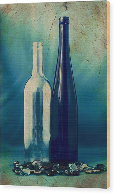 Vino Wood Print