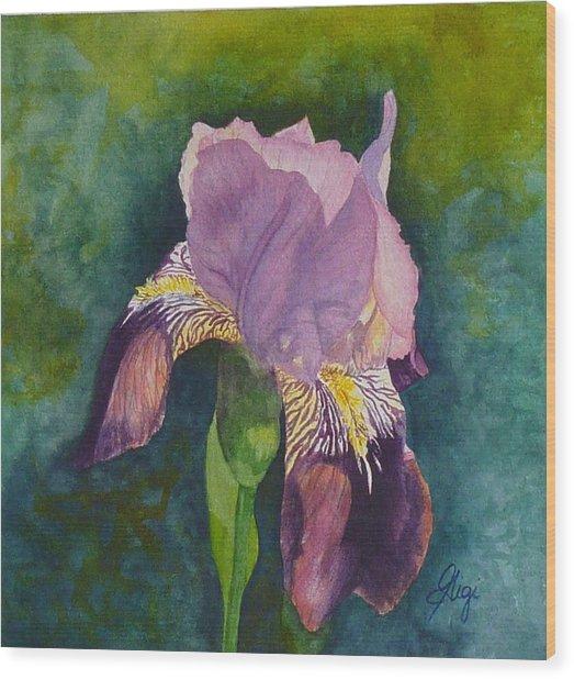 Violetta Wood Print