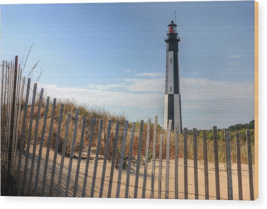 Virginia Beach Wood Print by JC Findley