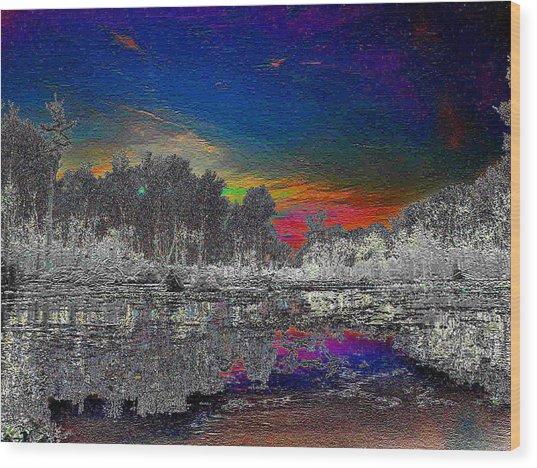 Virginia Landscape Art #1  Wood Print