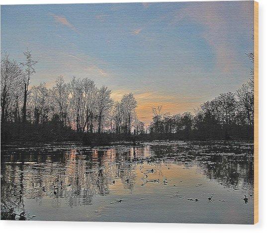 Virginia Landscape Art #1b Wood Print