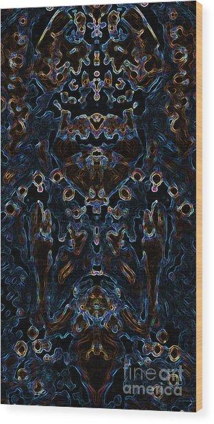Visionary 3 Wood Print