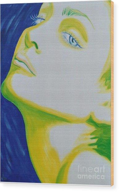 Madonna Vogue Wood Print