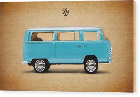 Volkswagen Bus Wood Print