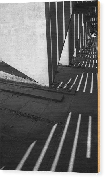 Vortice 2009 1 Of 1 Wood Print