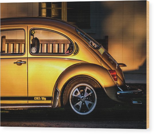Vw Wood Print by Benny Pettersson