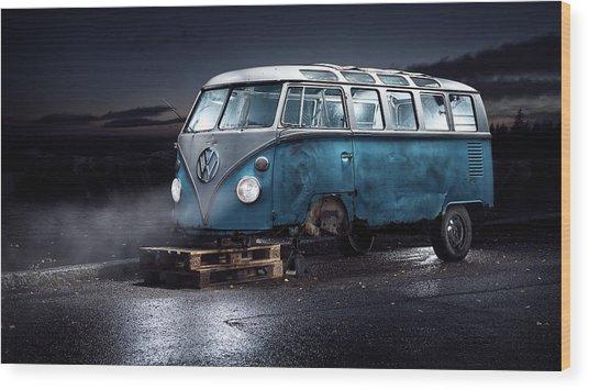 Vw Kleinbus Wood Print