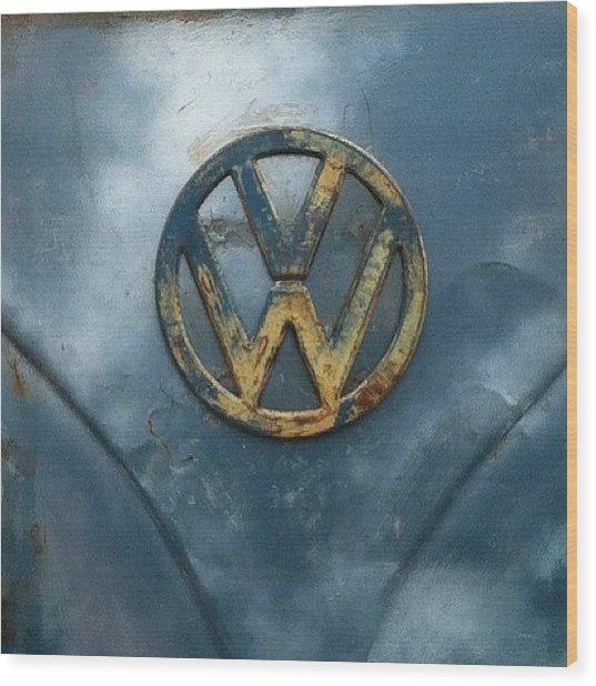 #vw #vdub #vwbus #vwlove #vwcamper Wood Print