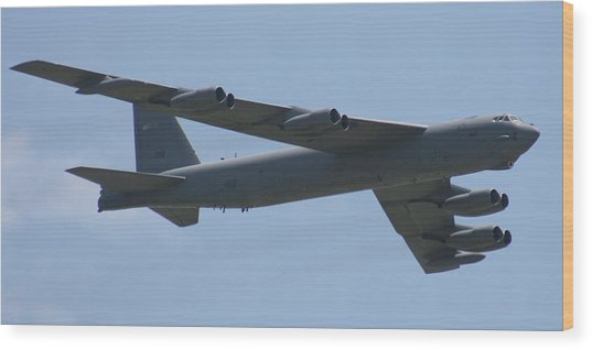 Wafb 09 B52 Stratofortress Wood Print