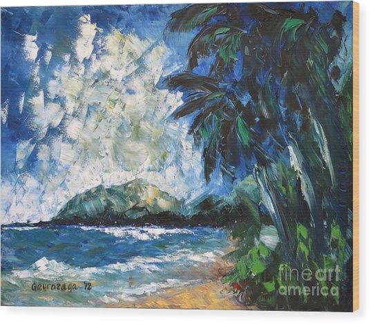 Waimanalo Wood Print
