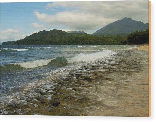 Wainiha Bay - Kauai  Wood Print