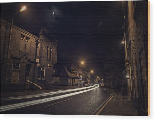 Wood Print featuring the photograph Walk On The Wide Side by Doug Gibbons