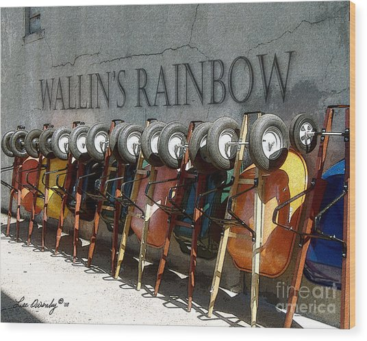 Wallin's Rainbow Wood Print