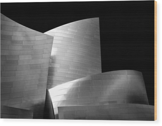 Walt Disney Concert Hall 1 Wood Print