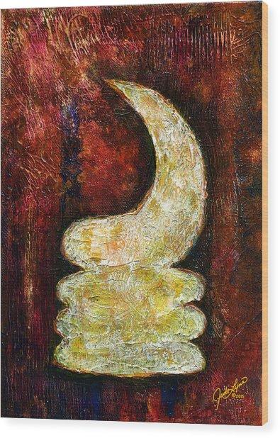 Warhorn Wood Print