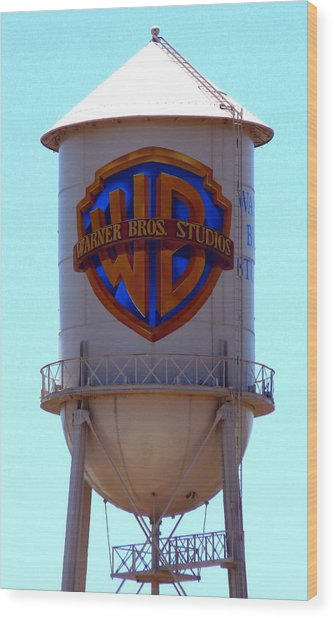 Warner Bros Studios Wood Print