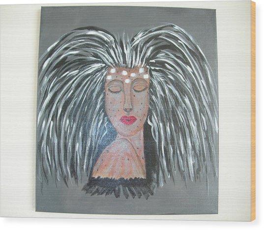 Warrior Woman #2 Wood Print