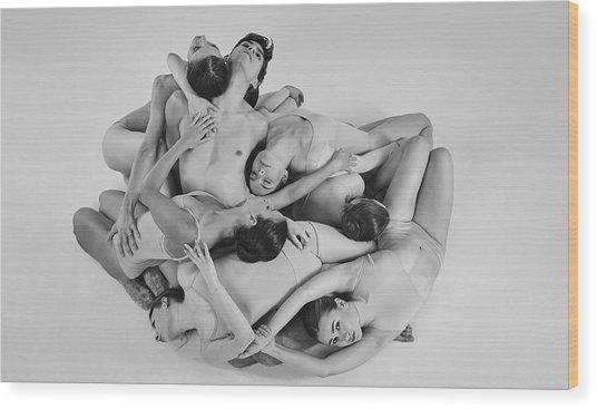 Warsaw Ballet Wood Print