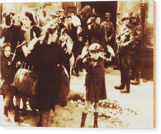 Warsaw Ghetto 1943 Wood Print