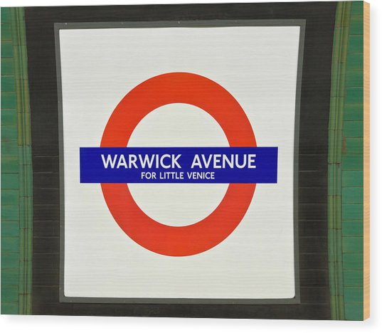 Warwick Station Wood Print