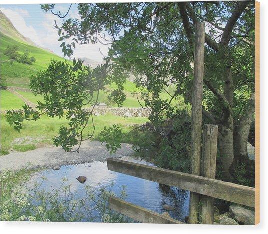 Wasdale Head Stile Wood Print