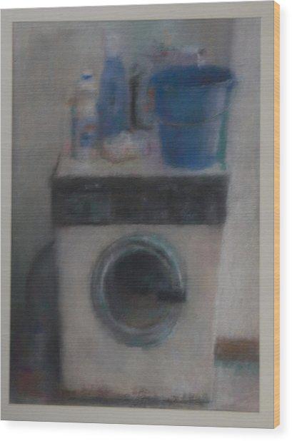 Washing Machine Wood Print