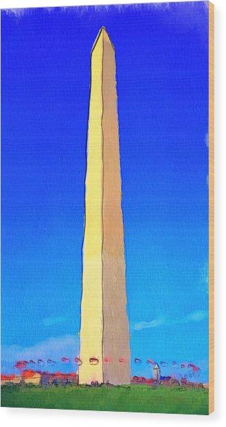 Washington Dc Memorial Wood Print by Yury Malkov