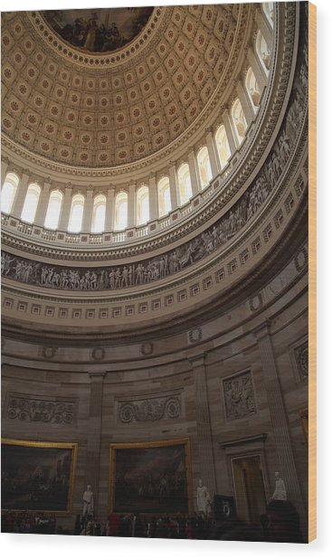 Washington Dc - Us Capitol - 011311 Wood Print by DC Photographer