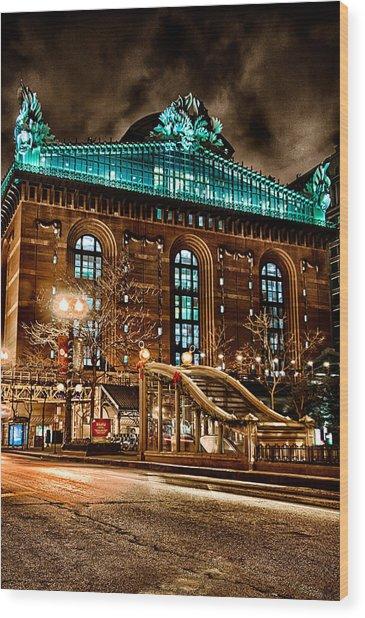 Washington Library 12-8-2013 Wood Print
