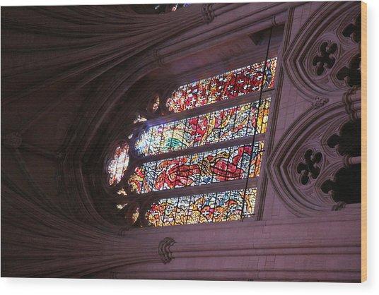 Washington National Cathedral - Washington Dc - 011381 Wood Print by DC Photographer