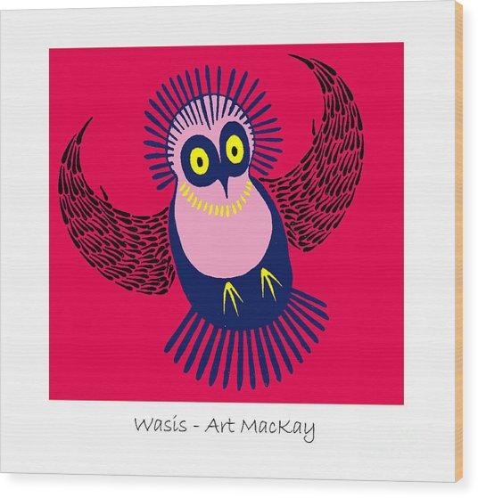 Wasis Wood Print