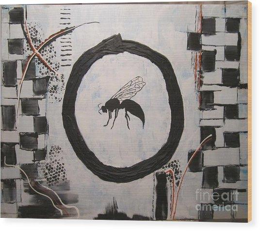 Wasp 2013 Wood Print