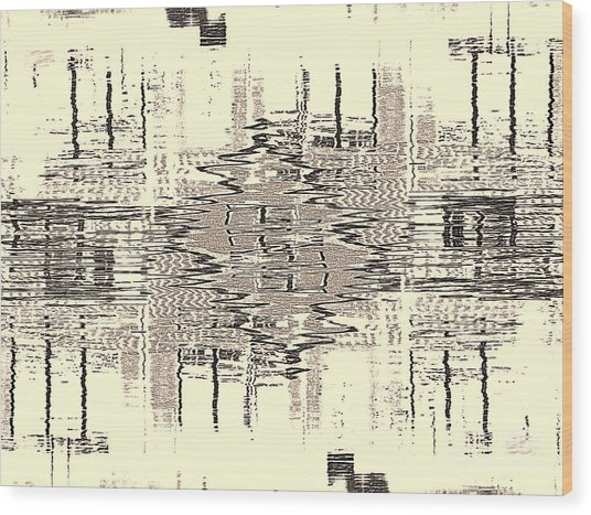 Wood Print featuring the photograph Water  Graph by Luc Van de Steeg