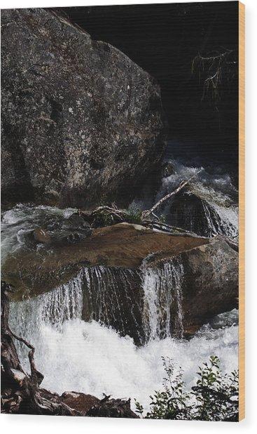 Water's Flow Wood Print