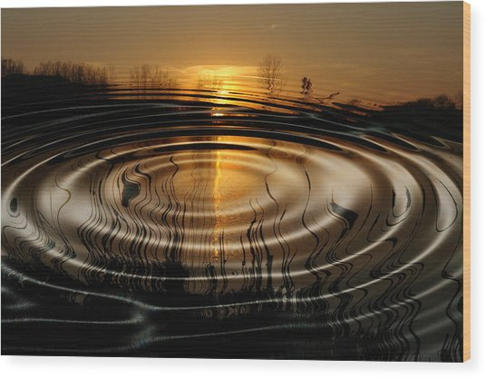 Watersun Wood Print