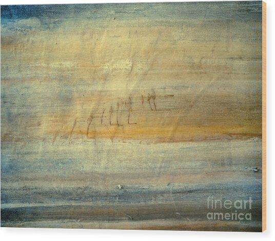 Waterworld #1267 Wood Print