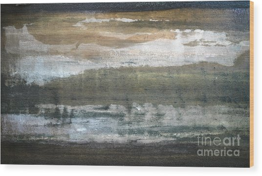 Waterworld #1285 Wood Print
