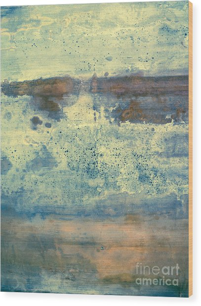 Waterworld #1321 Wood Print