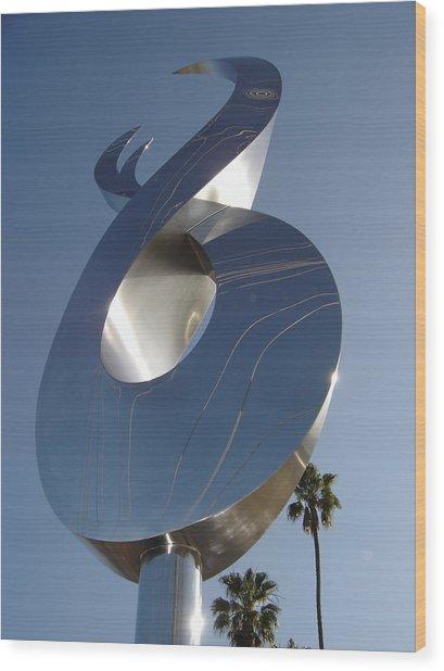 Waves Of Time Wood Print by Jon Koehler