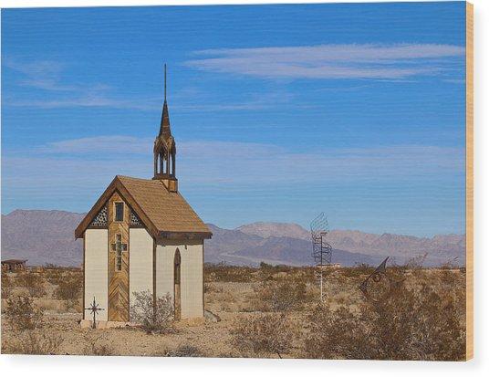 Wayside Chapel Wood Print