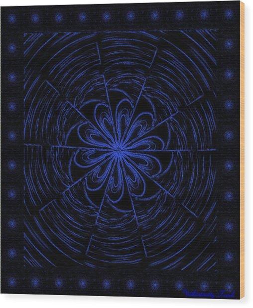 Web String Wood Print